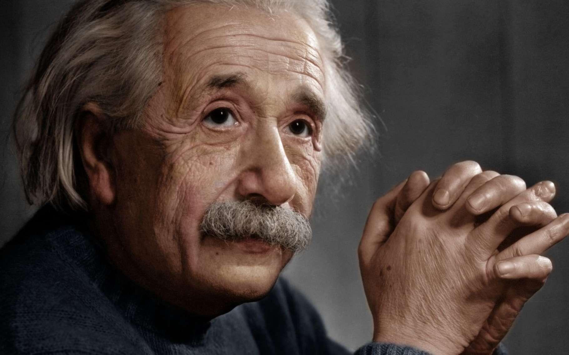 Albert Einstein est probablement le plus célèbre des physiciens. © InformiguelCarreño, Wikimedia Commons, CC by-sa 4.0