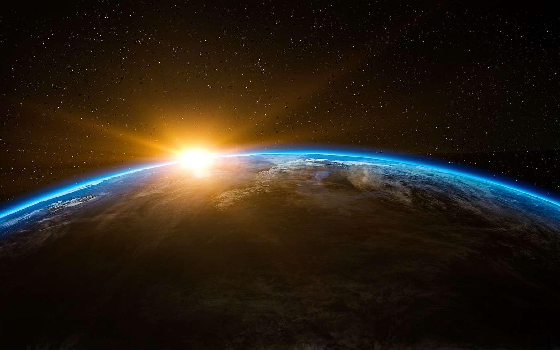 La magnitude apparente du Soleil est de -26,7 alors que sa magnitude absolue est de 4,9. © qimono, Pixabay License
