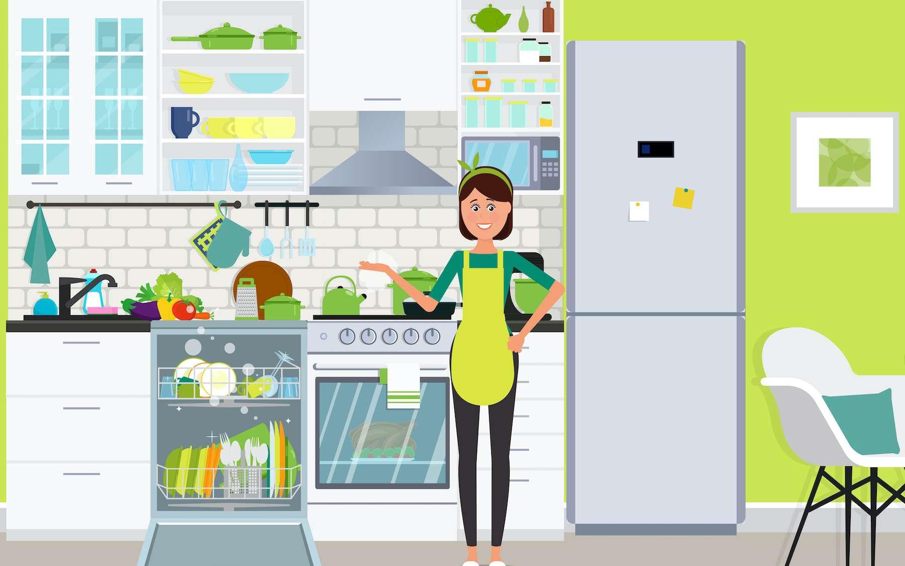 Comment laver sa laver sa vaisselle en préservant l'environnement © marinadreams, Adobe Stock