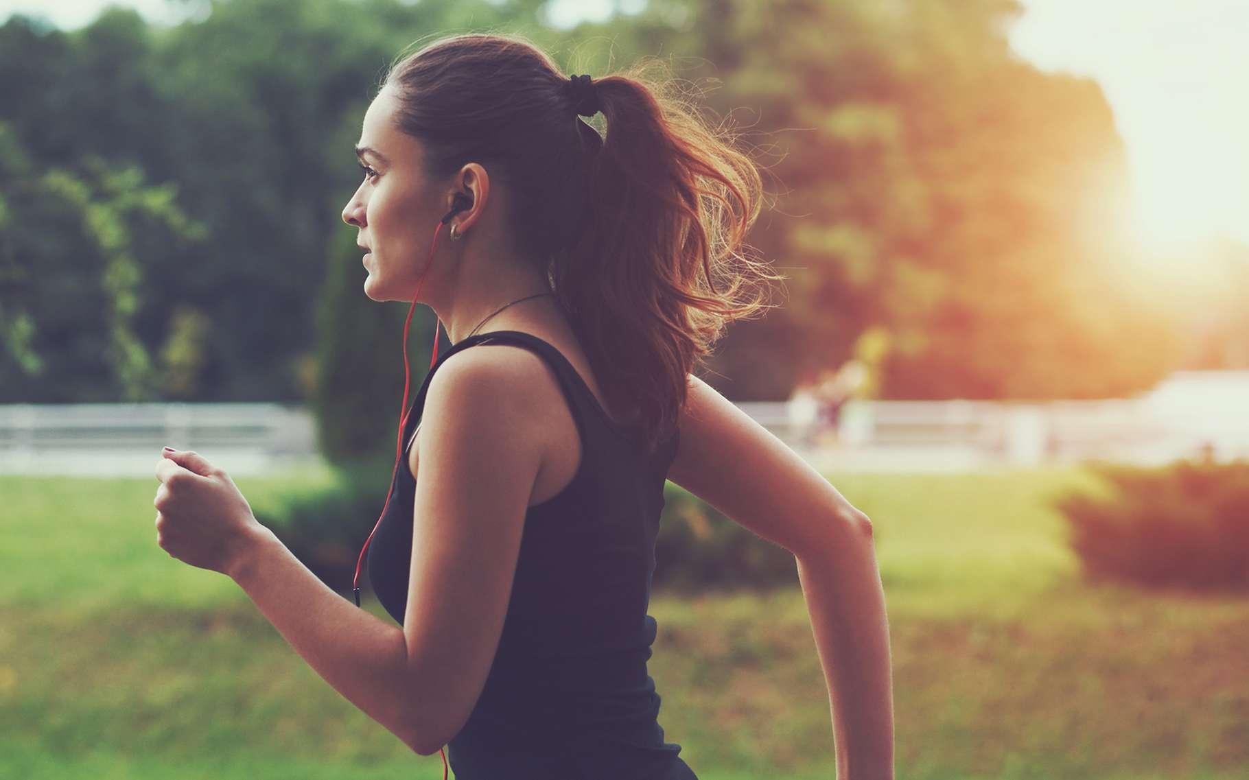 Les coureurs peuvent devenir accros au sport, physiquement et psychologiquement. © A. and I. Kruk, Shutterstock