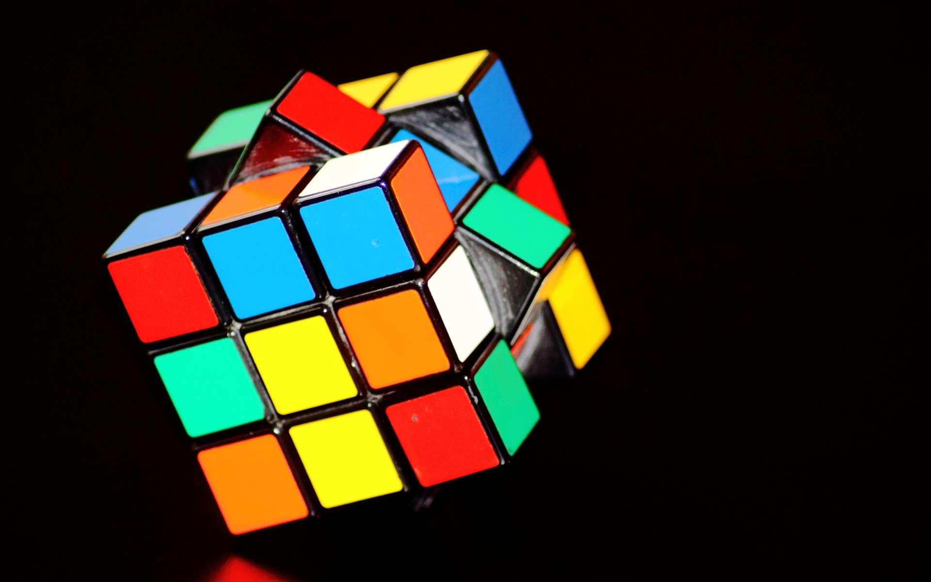 Comment fonctionne un Rubik's Cube ? © DomenicBlair, Pixabay, DP