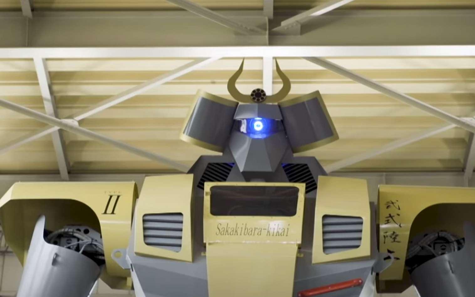 Le robot géant LW Mononofu de Masaaki Nagumo. © Great Big Story