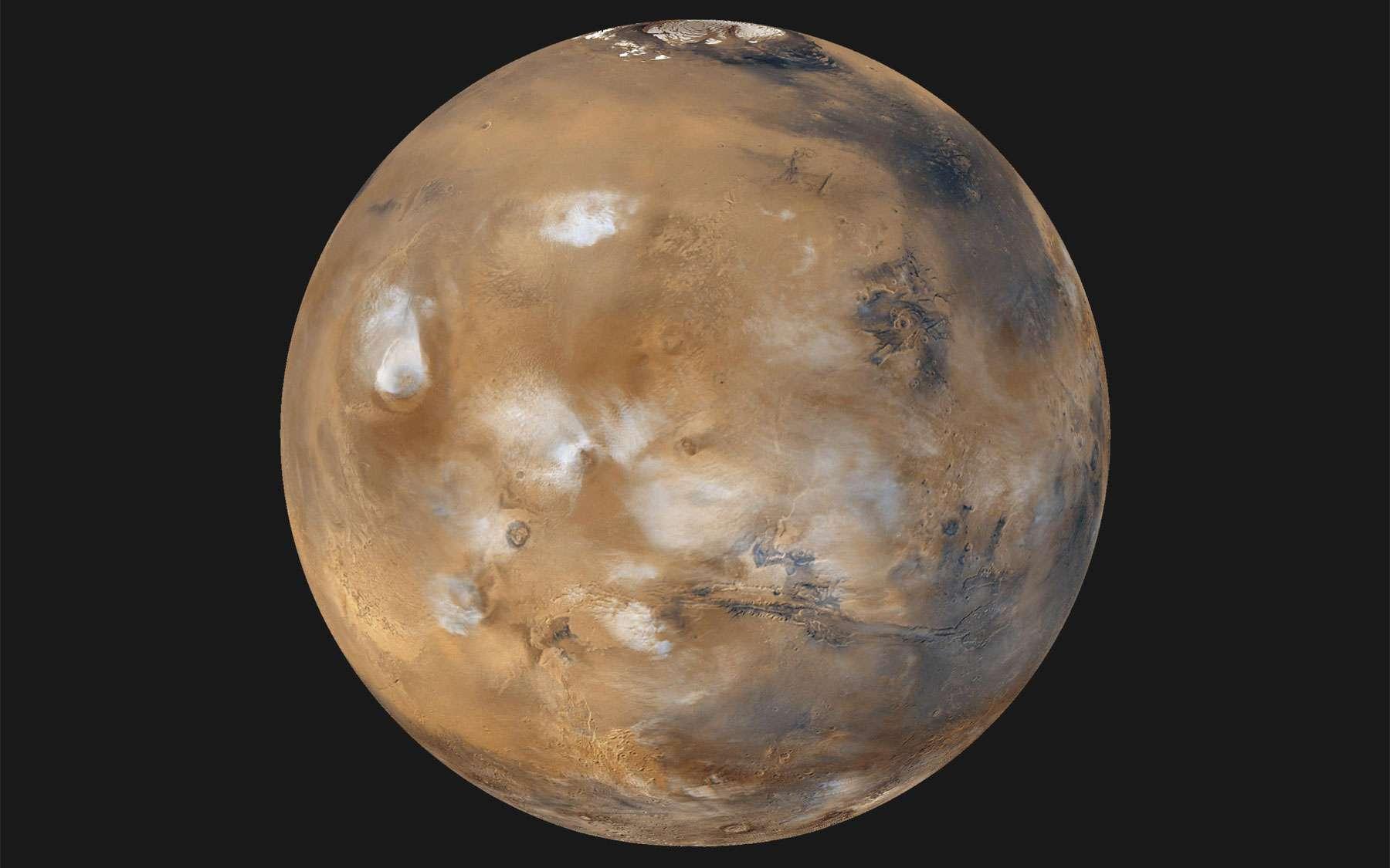 Après les États-Unis, la Russie, l'Europe, l'Inde et en attendant la Chine, les Émirats arabes unis veulent tourner autour de Mars en y envoyant la mission Hope en 2021. © Nasa, JPL