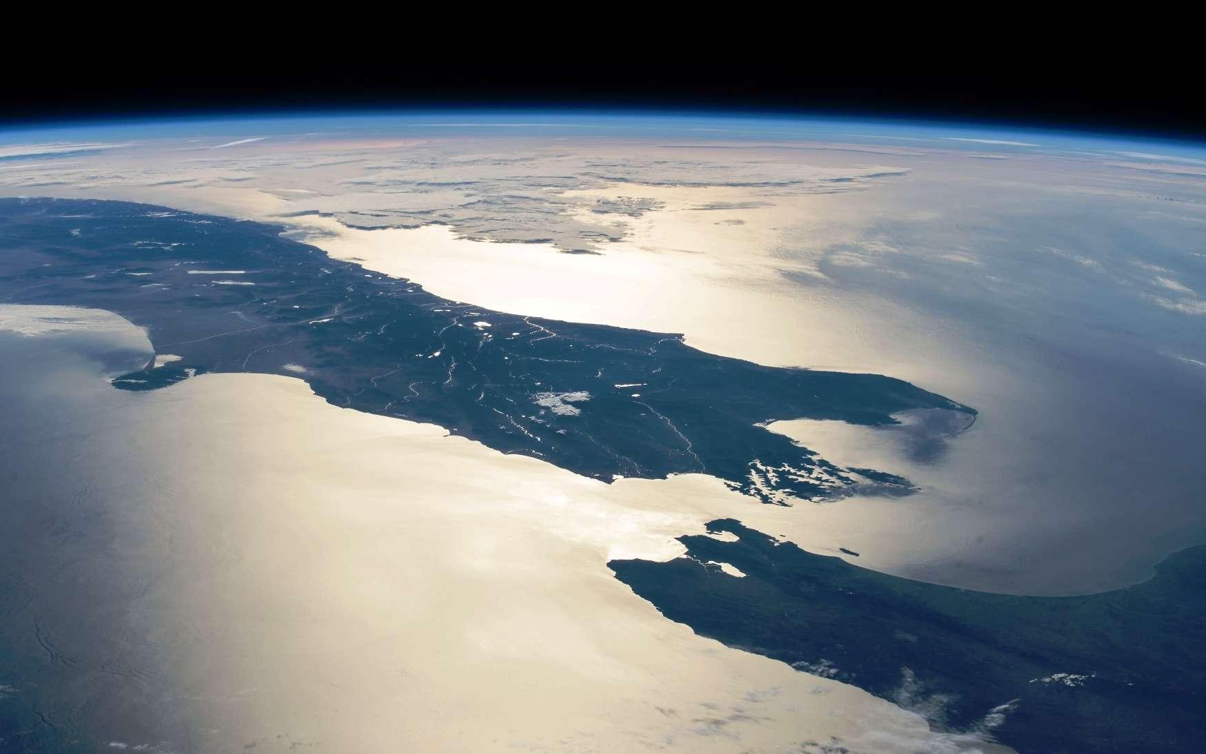 La Nouvelle-Zélande vue de l'ISS. © Nasa