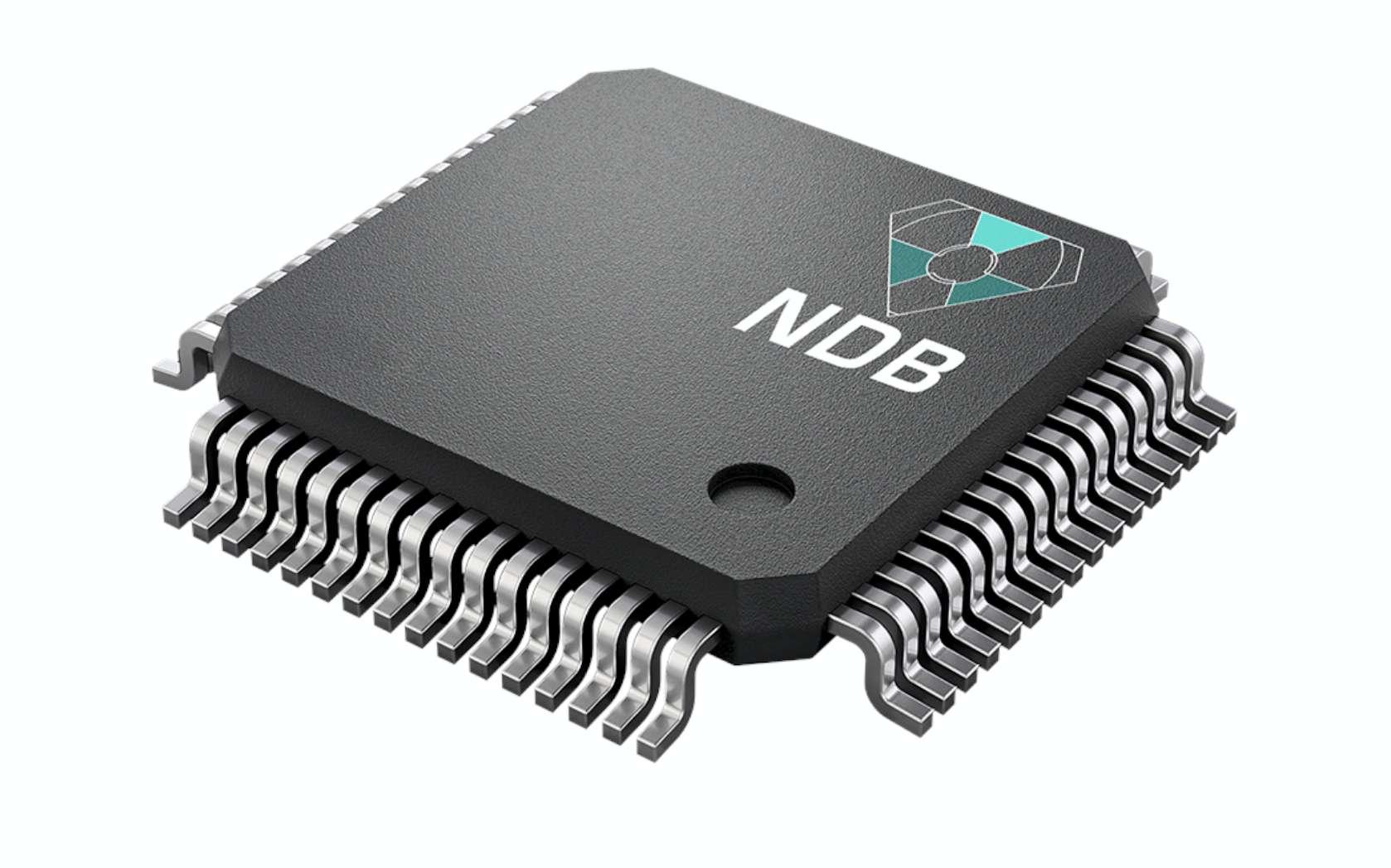 NDB a mis au point de minuscules batteries à base de nano-diamants radioactifs. © Courtesy of NDB