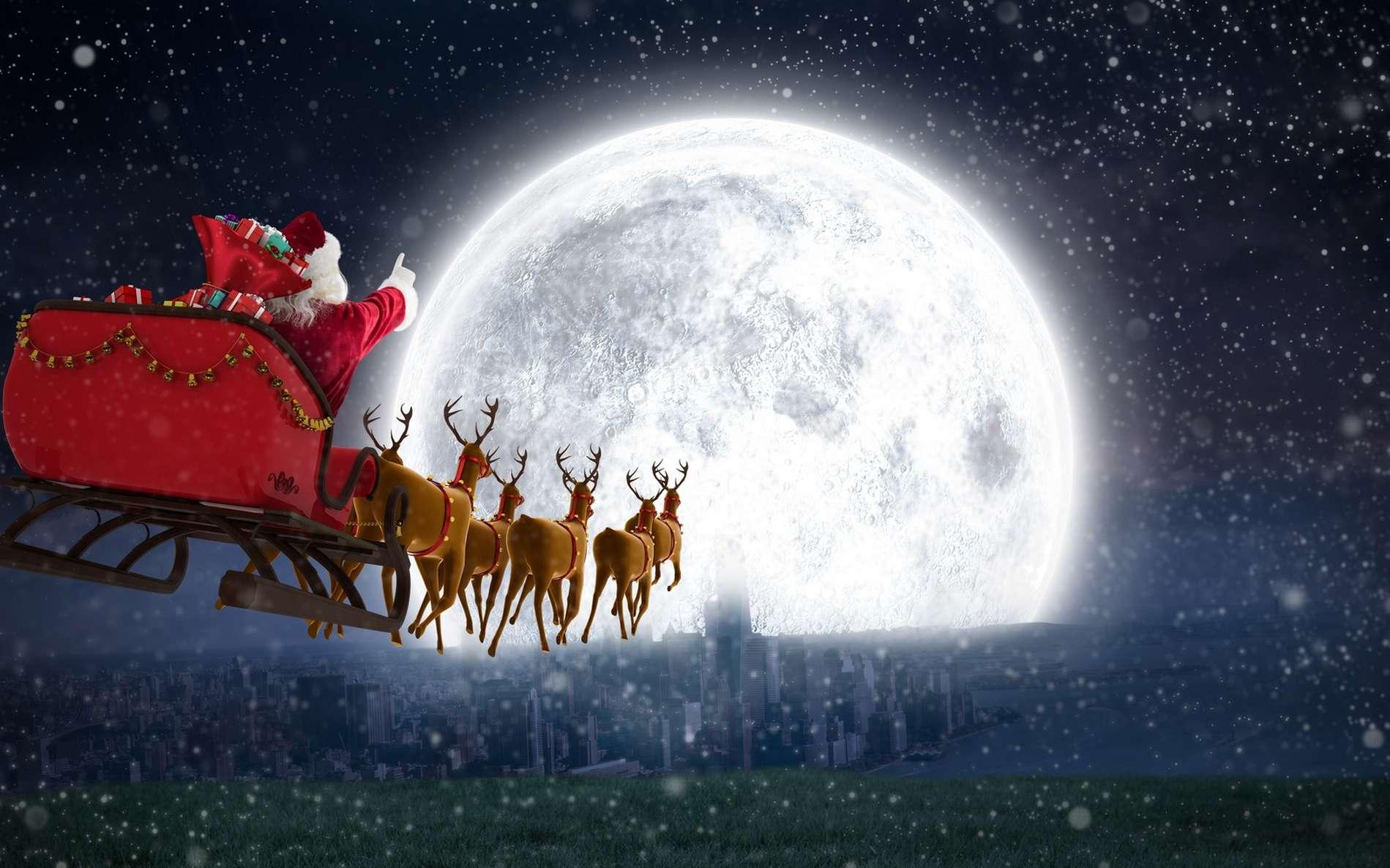 La légende du Père Noël s'est construite au fil des siècles et au gré des migrations. © vectorfusionart, Fotolia