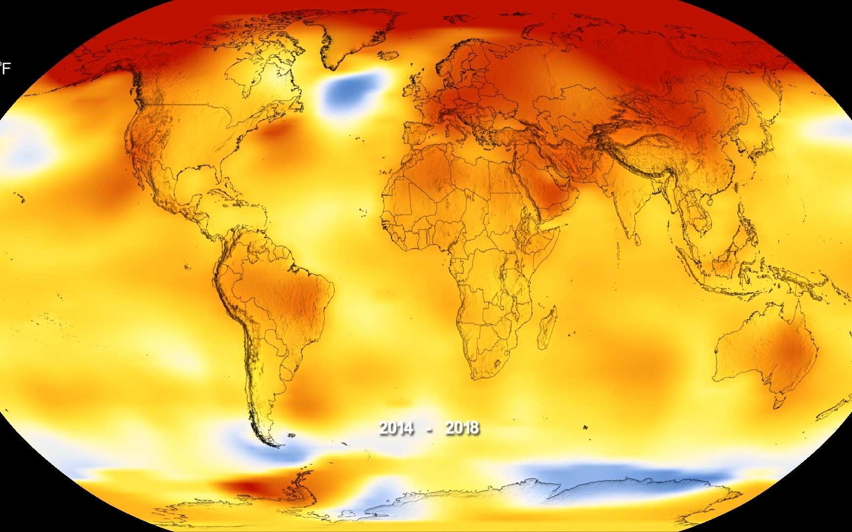 Selon des chercheurs, neuf points de non-retour ont désormais été franchis sur fond de réchauffement climatique. Une cascade de conséquences est à craindre. © Nasa Earth Observatory