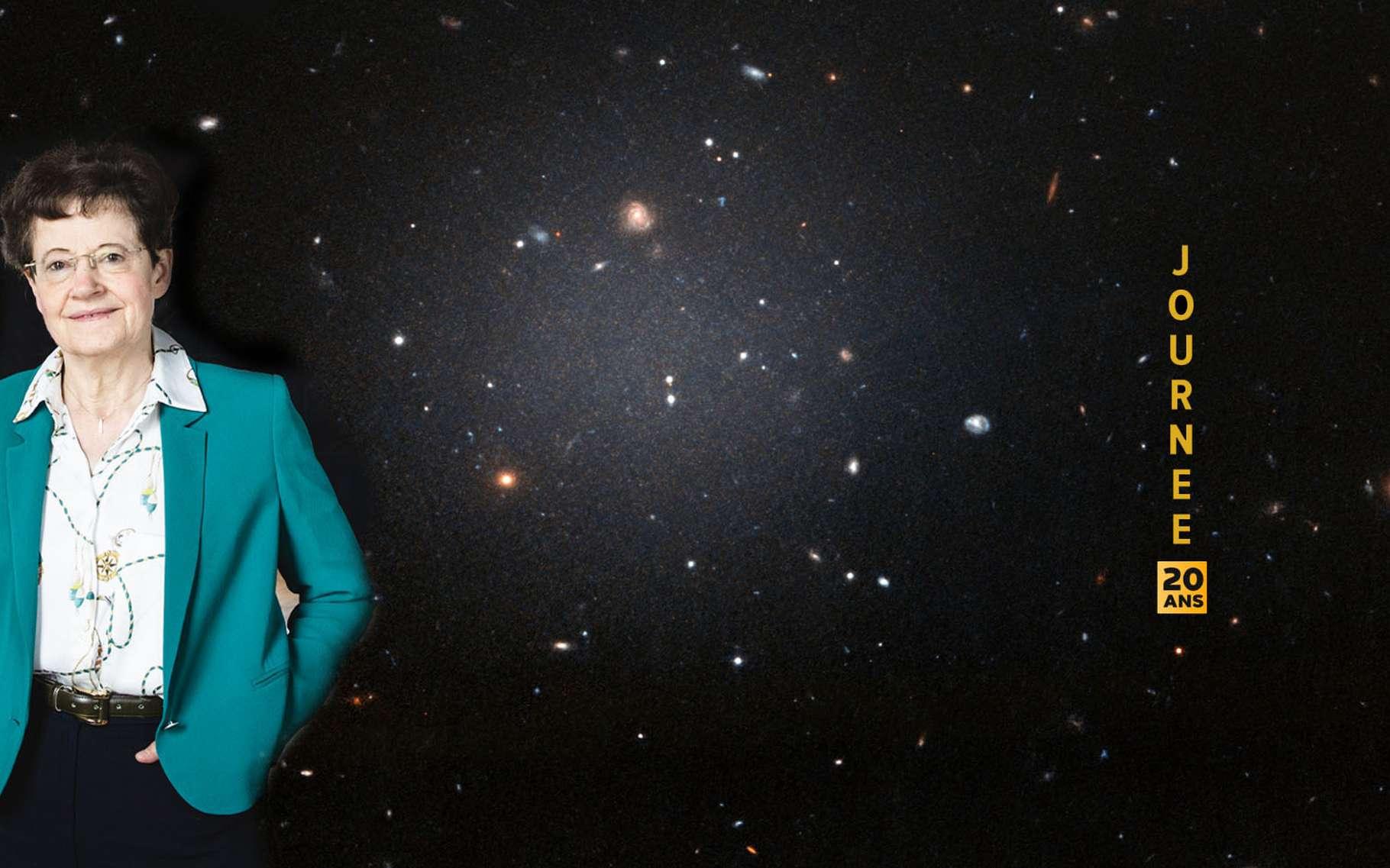 L'astrophysicienne Françoise Combes, la médaille d'or 2020 du CNRS, professeure au Collège de France et chercheuse à l'Observatoire de Paris. © Jul / Futura