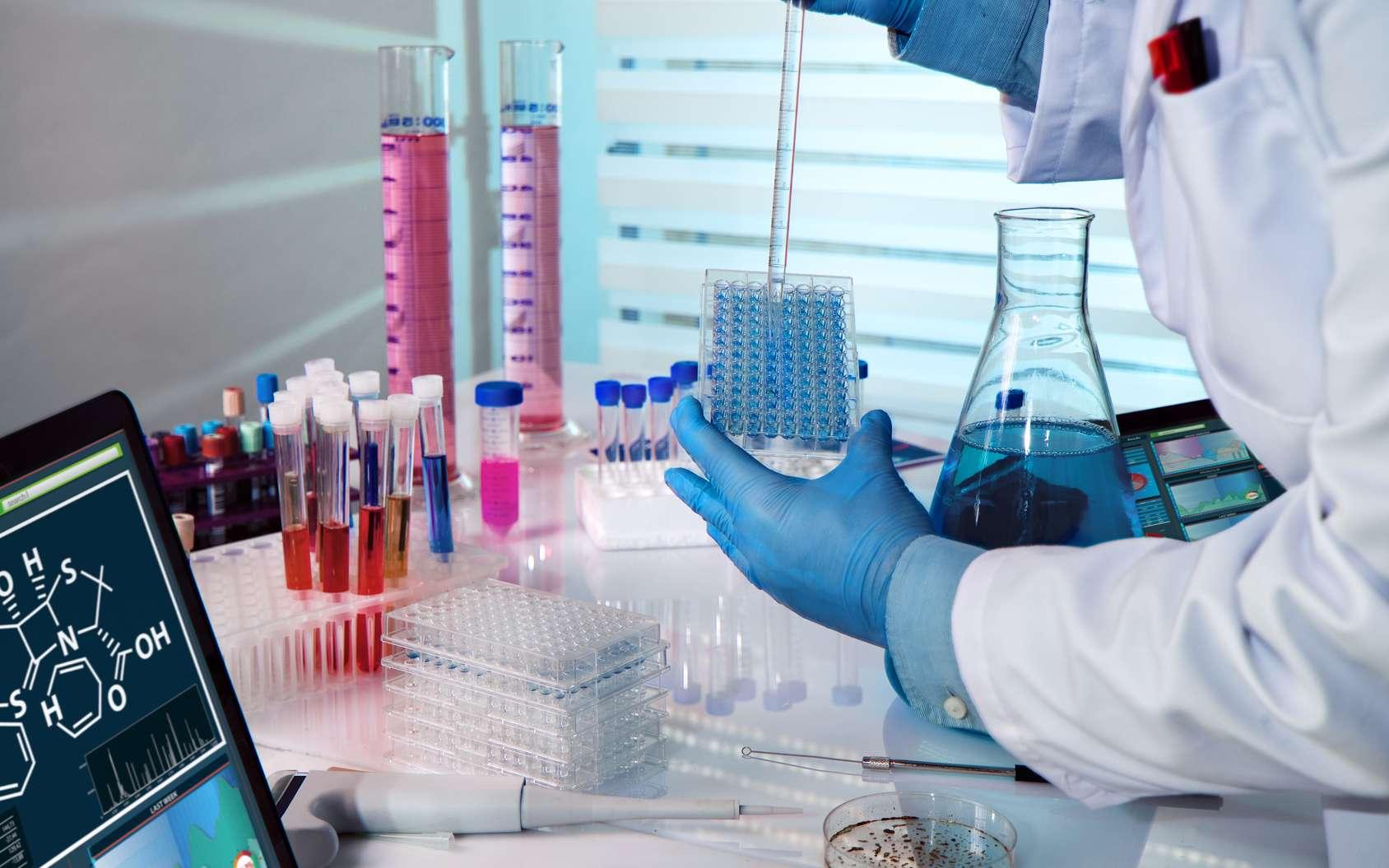 A la fois informaticien et scientifique, le bio-informaticien doit savoir passer du laboratoire à son bureau. © angellodeco, Fotolia.