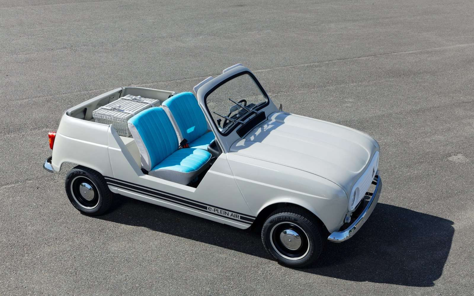 La Renault e-Plein-Air aura-t-elle un destin commercial ? © Renault