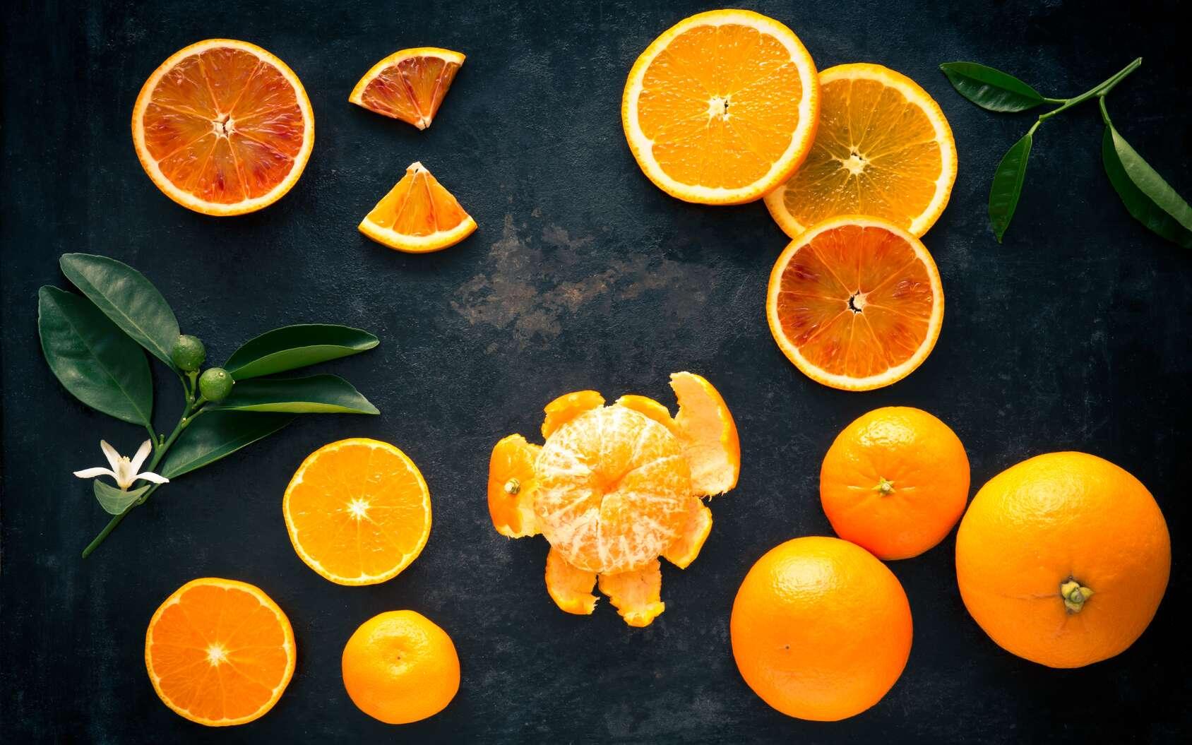 L'orange est un agrume à consommer en hiver pour sa richesse en vitamine C. © Melima, Fotolia