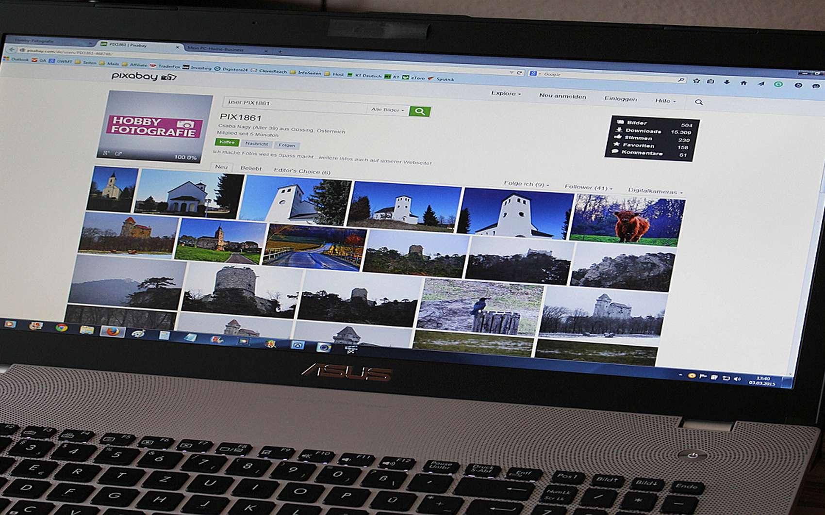Futura vous explique comment faire la capture d'écran d'une page web entière avec Chrome et Firefox. © pxhere