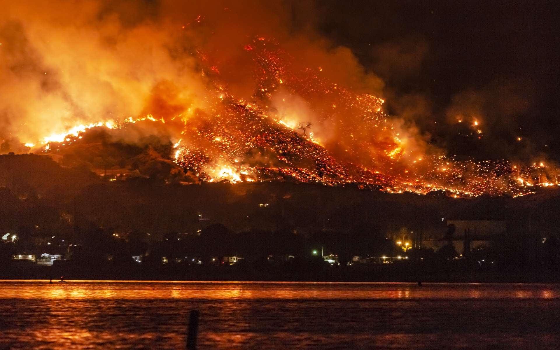 Chaque année, les feux de forêt nous rappellent l'urgence du réchauffement climatique. © Kevin Key, Adobe Stock