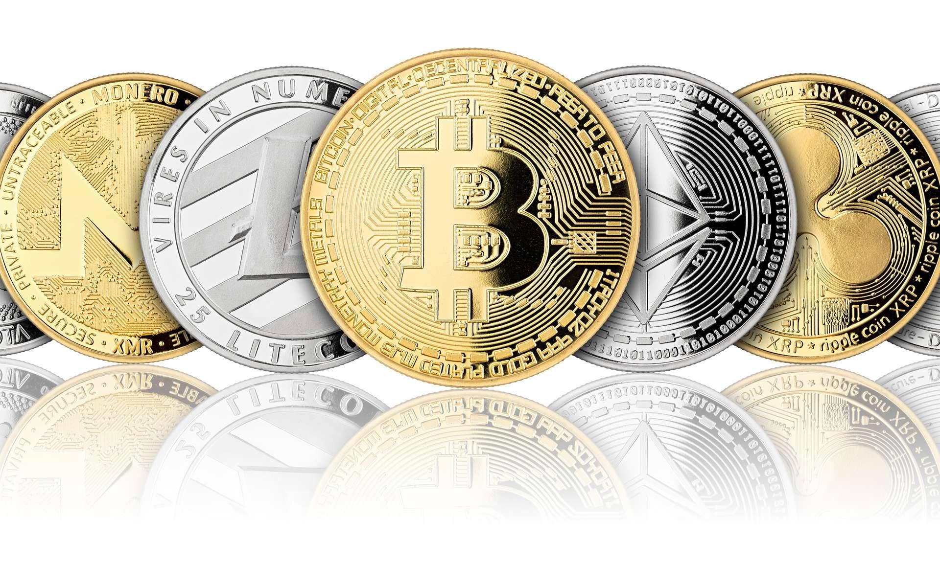 Investir dans les cryptomonnaies est une pratique qui se démocratise, mais cela reste risqué. © stockphoto-graf, Adobe Stock
