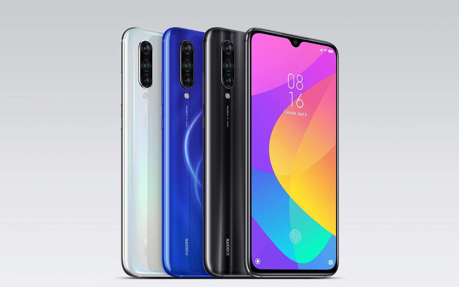 À moins de 300 euros, le Mi 9 Lite propose un plus grand écran que les iPhone 11 et iPhone 11 Pro. © Xiaomi
