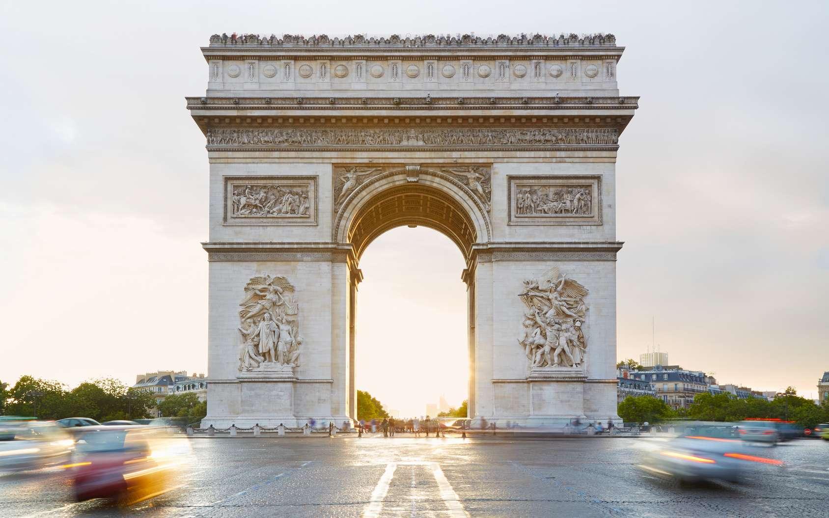 Les sculptures de l'Arc de triomphe ont été pensées dans les moindres détails. © andersphoto, Fotolia