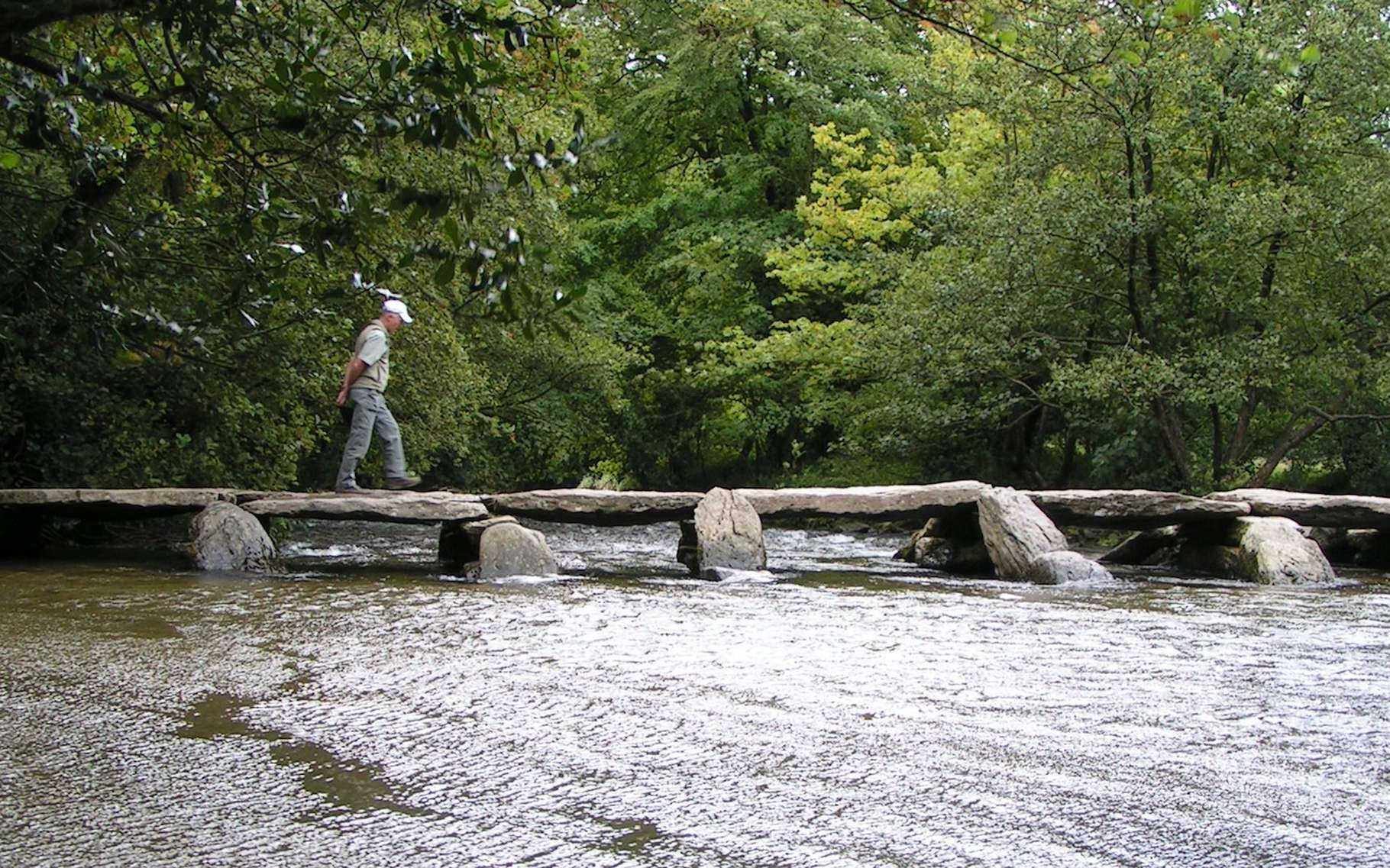 Les premiers ponts étaient très rudimentaires. Aujourd'hui, certains permettent de franchir de nombreux obstacles et on les appelle plutôt des viaducs. © Stefan Kühn, Wikipedia, CC by-sa 3.0
