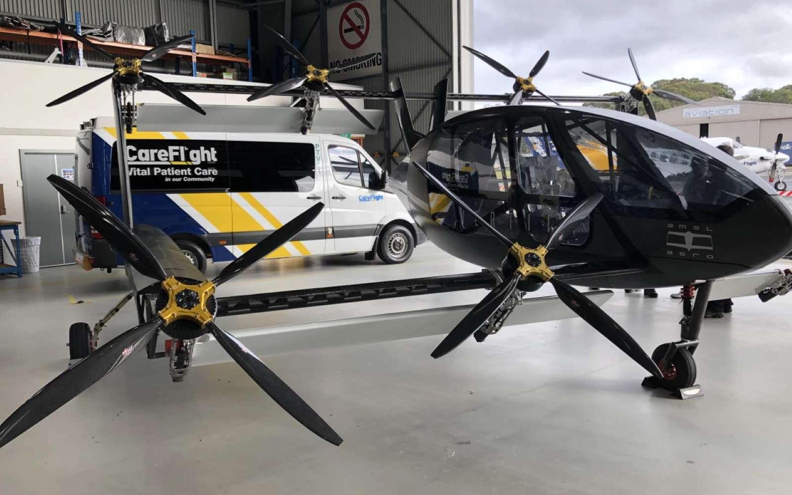 Cet avion électrique à décollage vertical peut atteindre 300 Km/h