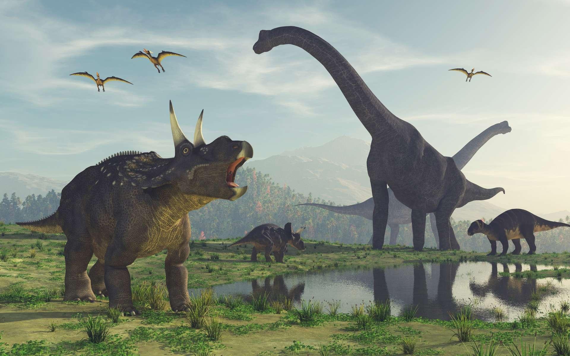 Certains des dinosaures représentés dans Jurassic Park obéissaient davantage à l'expression artistique qu'aux découvertes scientifiques. © Orlando Florin Rosu, Adobe Stock