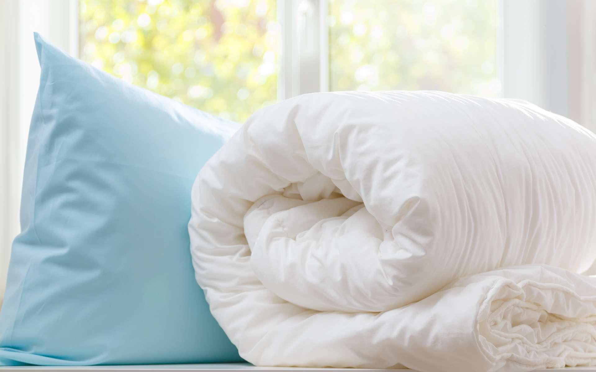 La couette en duvet est le modèle d'origine. © Olga, Adobe Stock