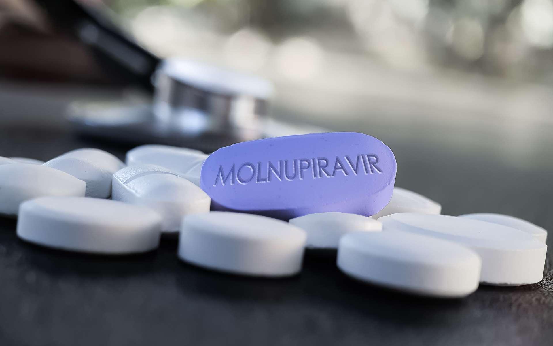 Le Molnupiravir limite la propagation du coronavirus en 24 heures. © Soni's, Adobe Stock