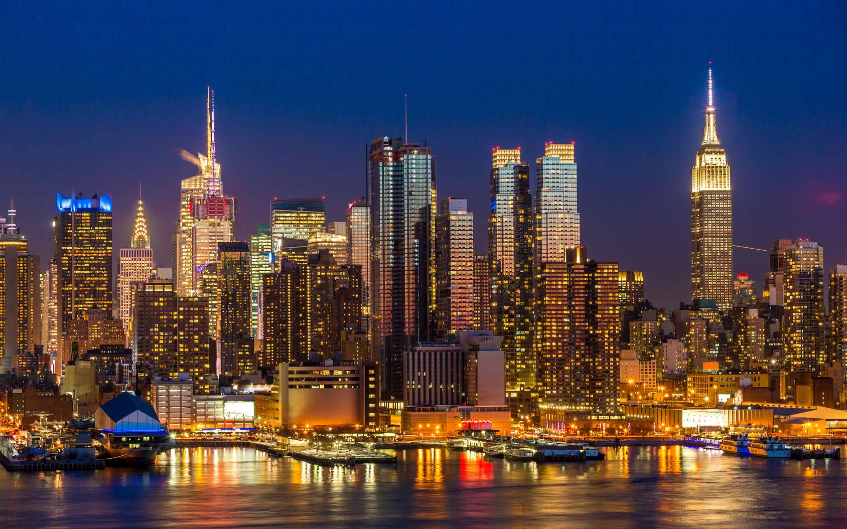La mythique skyline de New York. © blvdone, fotolia