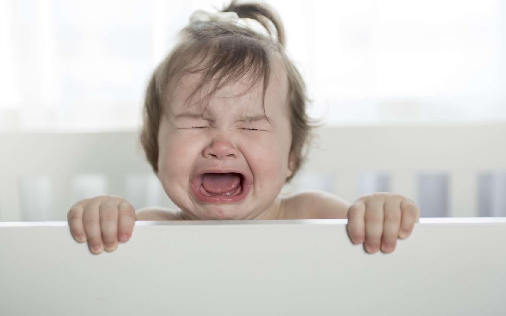 Les pleurs d'un bébé ne sont pas toujours faciles à décoder. © Pololia, Fotolia