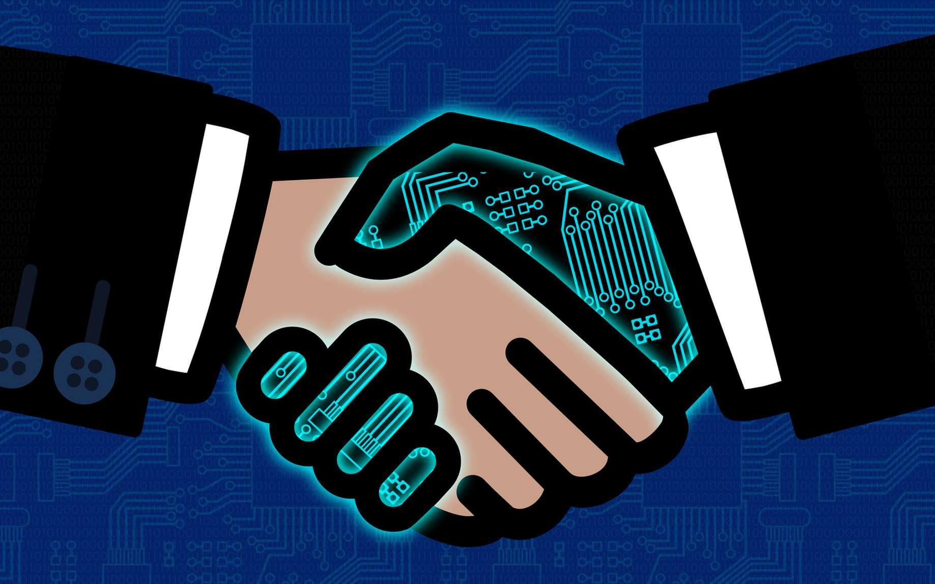 La collaboration entre humains et robots pourrait être grandement simplifiée grâce aux travaux de Nvidia. © Fotohansel, Fotolia