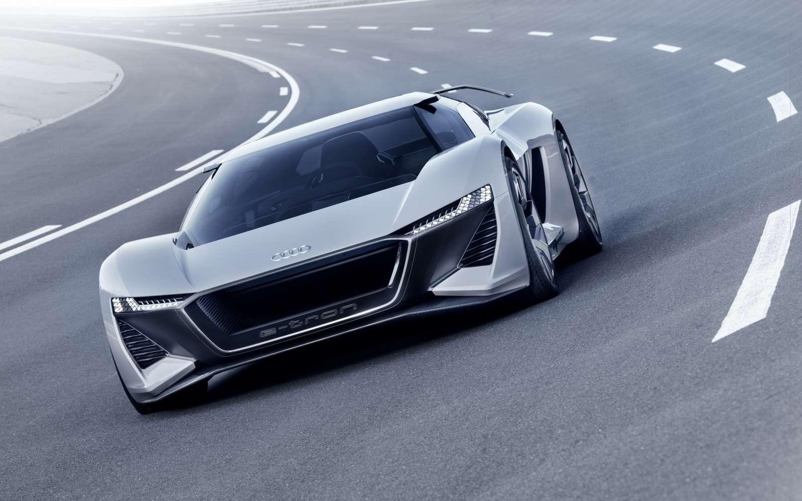 L'Audi e-Tron GTR pourrait être la future supercar d'Audi. © Audi