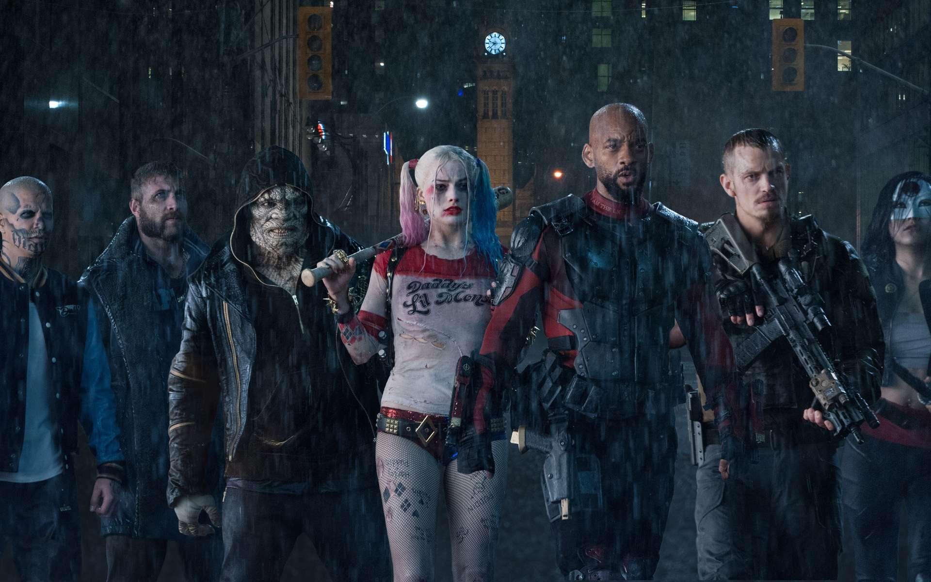 Suicide Squad, un film avec des superméchants. © Warner Bros