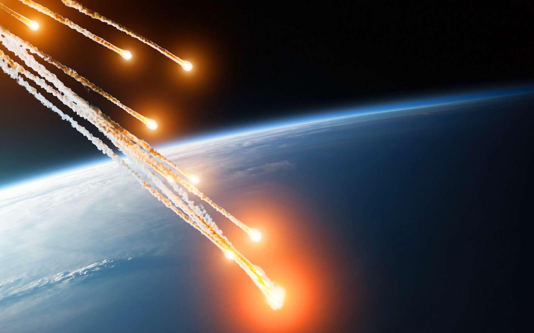Grâce à des billes de verres retrouvées dans des fossiles de palourdes, les chercheurs imaginent aujourd'hui que la Floride a pu connaître un bombardement de météorites jusqu'alors insoupçonné. © aapsky, Fotolia