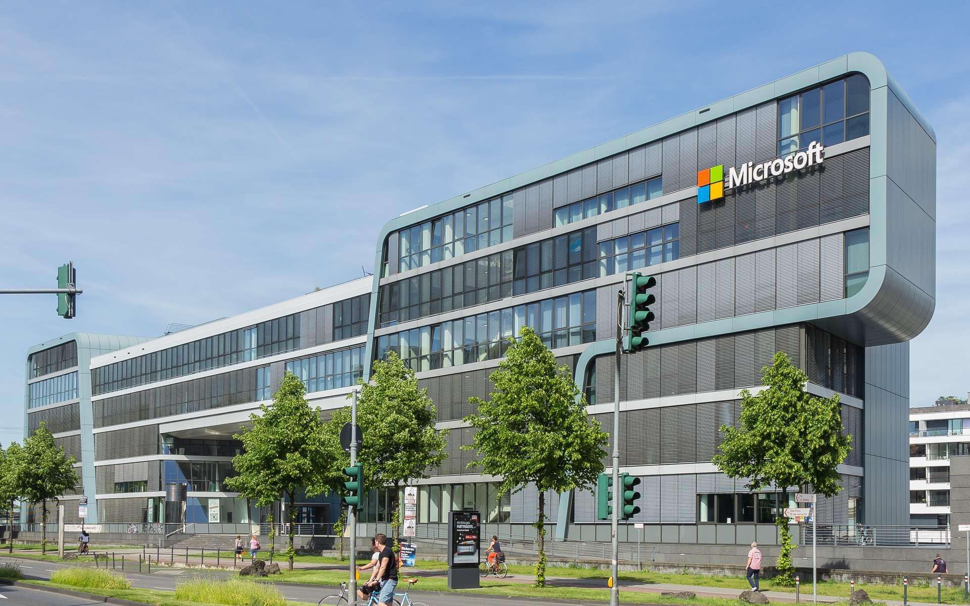 Le siège social de Microsoft © Wikimedia