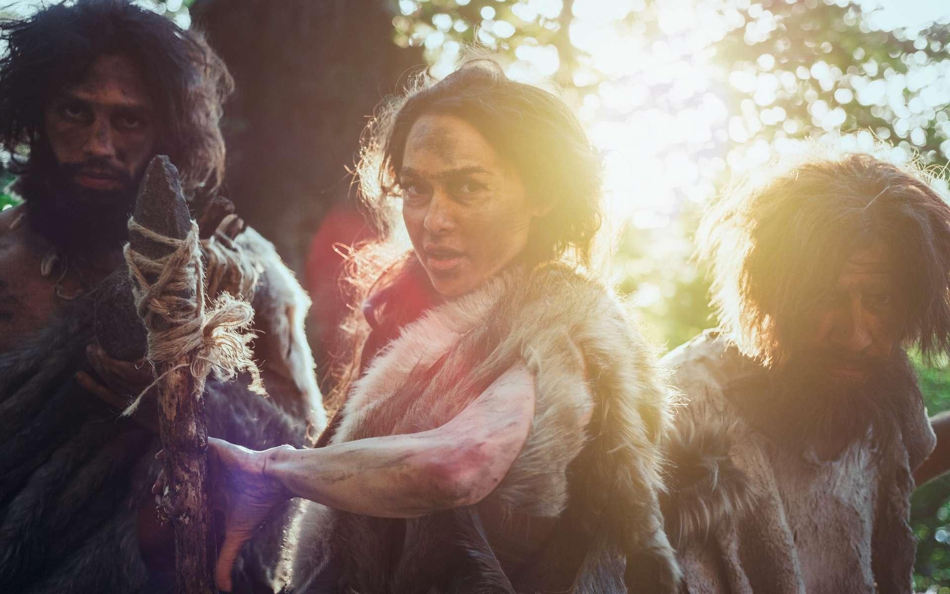 La compétition entre clans pour l'accès aux ressources à la préhistoire. © Gorodenkoff, Adobe Stock