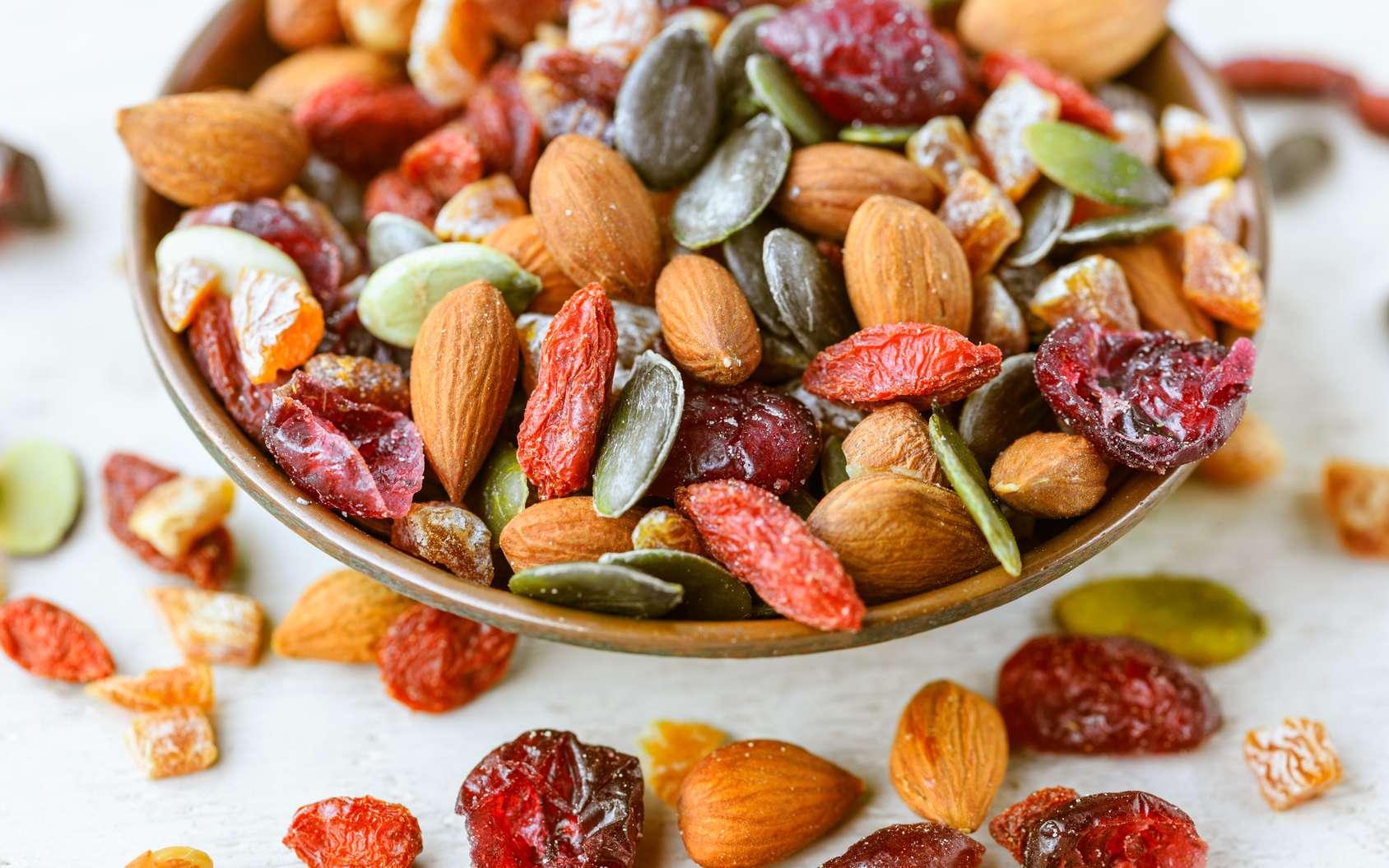 Les fruits secs sont excellents pour la santé ! Découvrez leurs bienfaits. © Quanthem, Fotolia