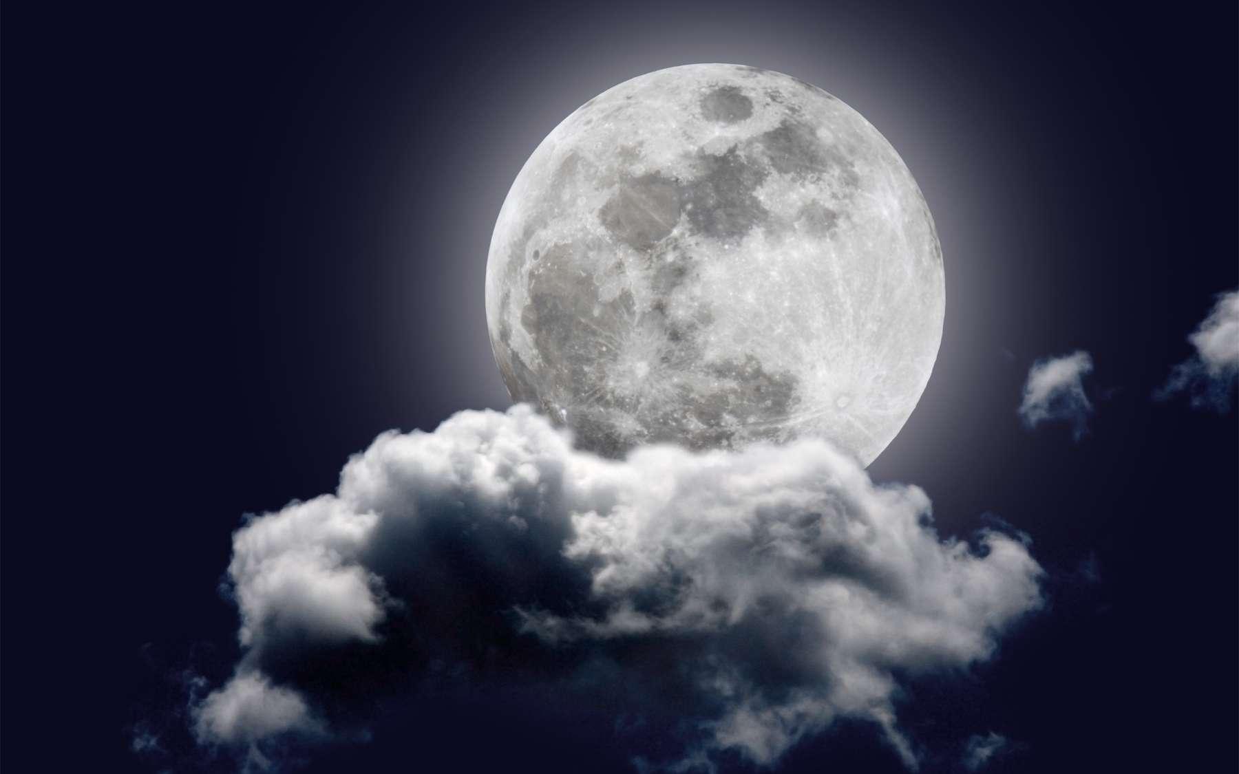 Une étude montre que les nuits de Pleine Lune, on a tendance à dormir moins et moins bien. Avons-nous un rythme biologique en phase avec le cycle lunaire ? © Thom Rains photos, Picasa, cc by 3.0