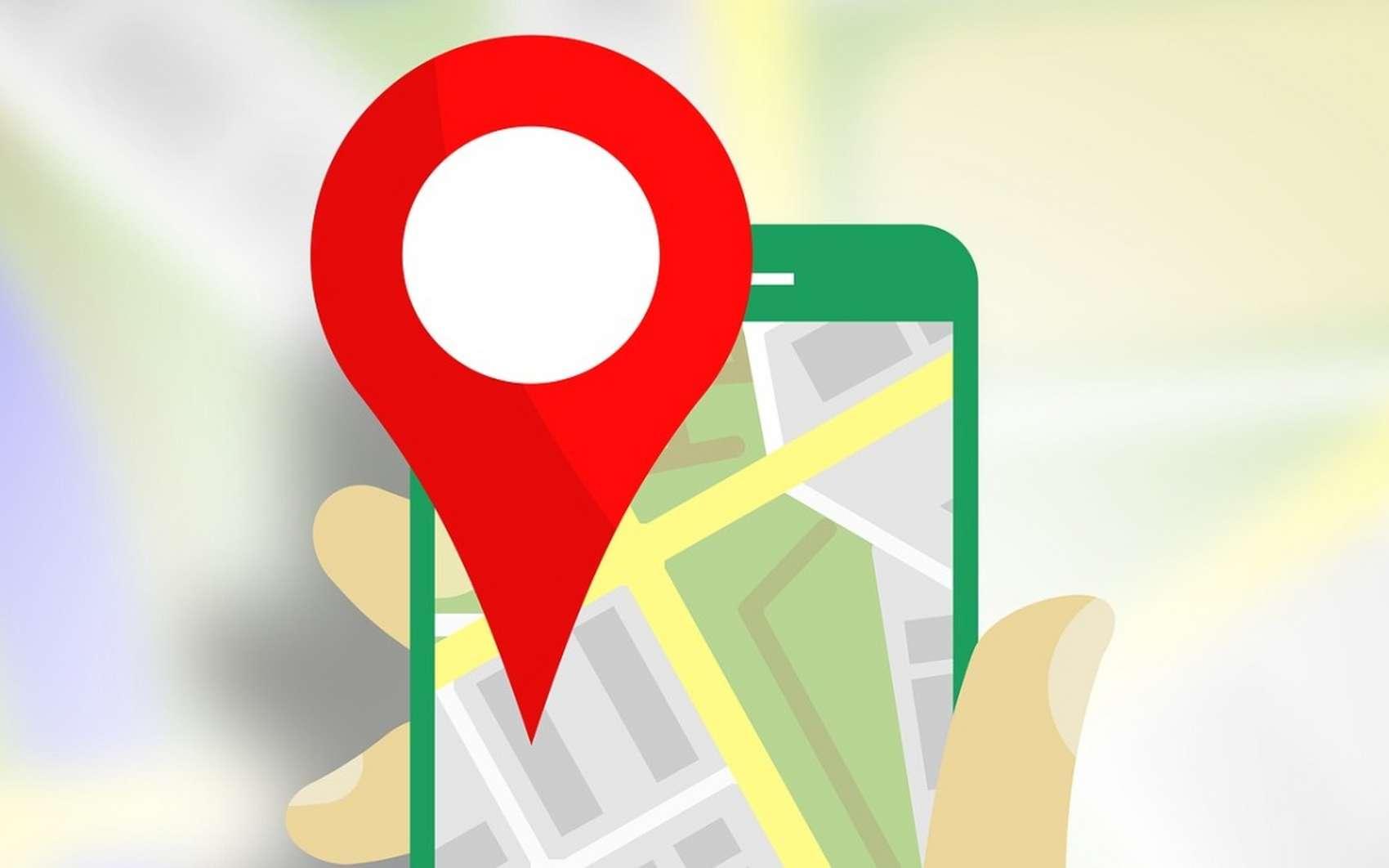 Google Maps peut être utilisé sans connexion. © Pixabay.com