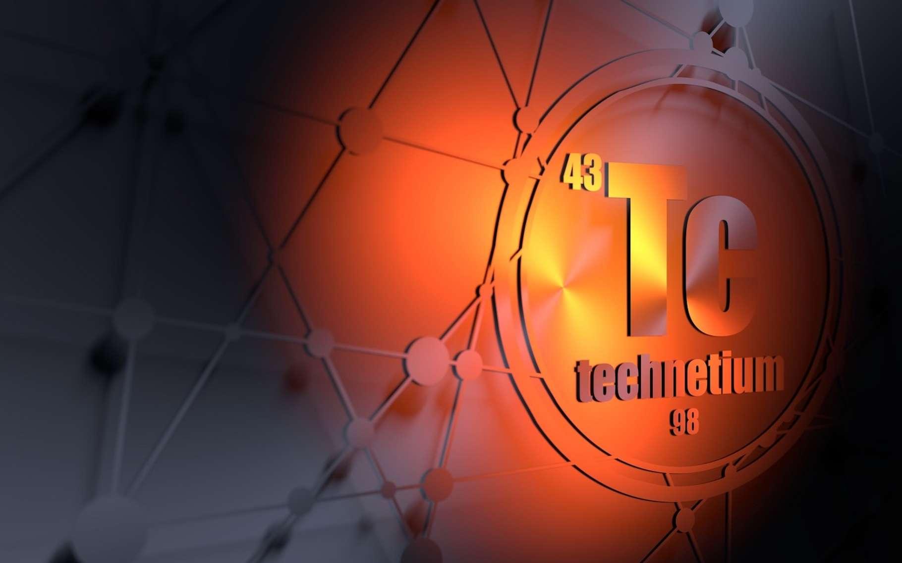Le technétium a été le premier élément créé artificiellement en 1937. © angellodeco, Fotolia