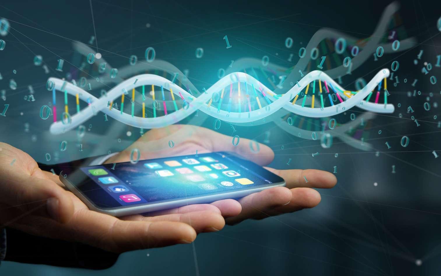 La baisse du coût du séquençage ADN permet d'envisager sérieusement son usage pour la sauvegarde de données numériques. © Production Perig, Fotolia