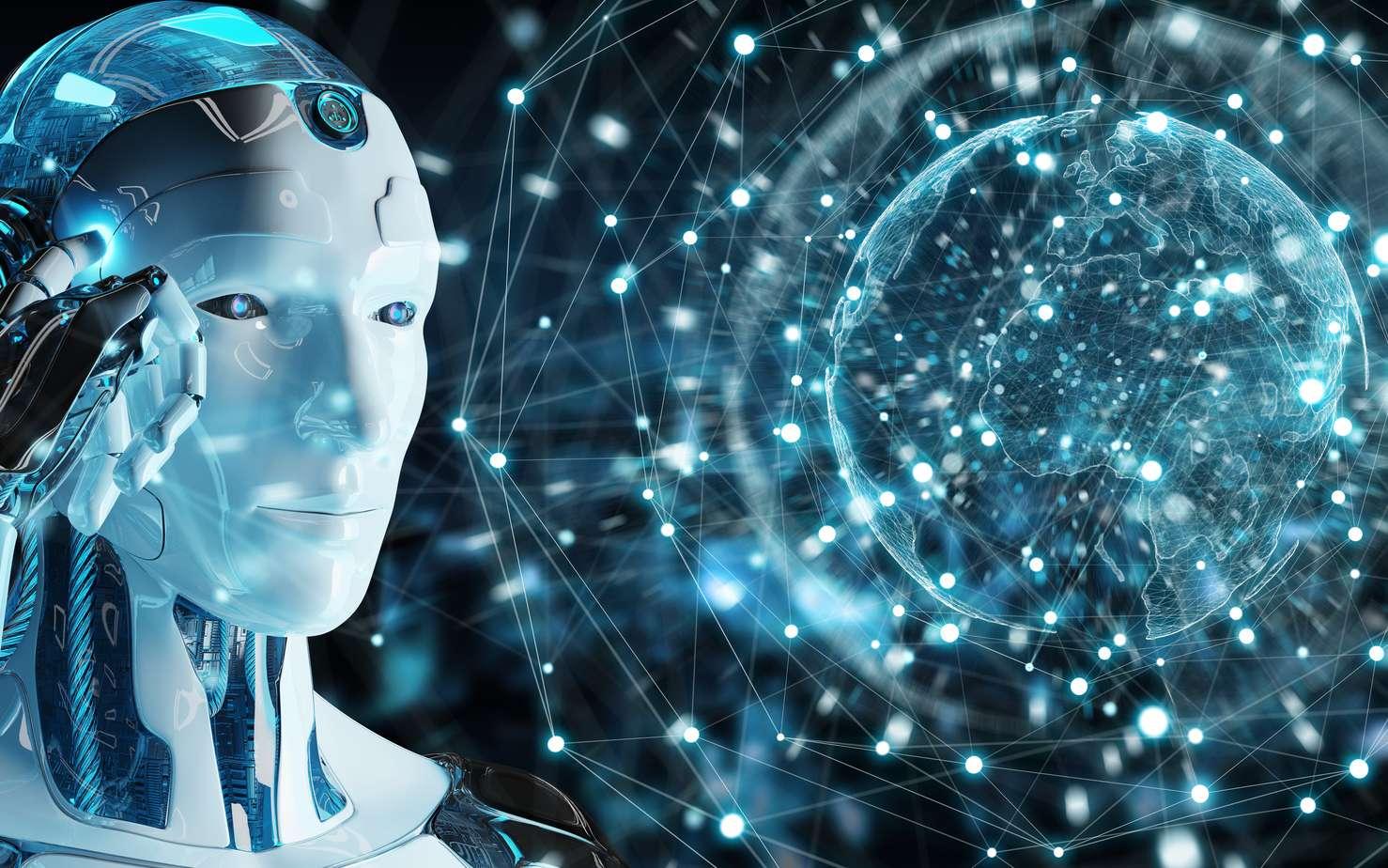 Bientôt les Robots deviennent indispensables. Régulant l'économie, les flux de circulation, les infrastructures, ils font partie intégrante de nos vies. © sdecoret, Fotolia