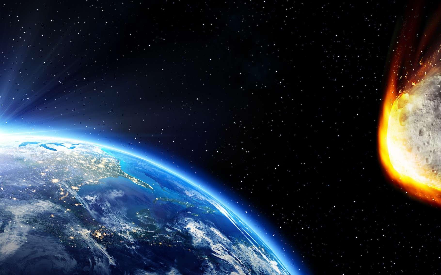 Selon les modèles développés par des chercheurs de l'Institut de physique de Krasnoïarsk (Russie), l'événement de Toungouska a pu être produit par un astéroïde de passage dans l'atmosphère de notre Terre. © Romolo Tavani, Adobe Stock