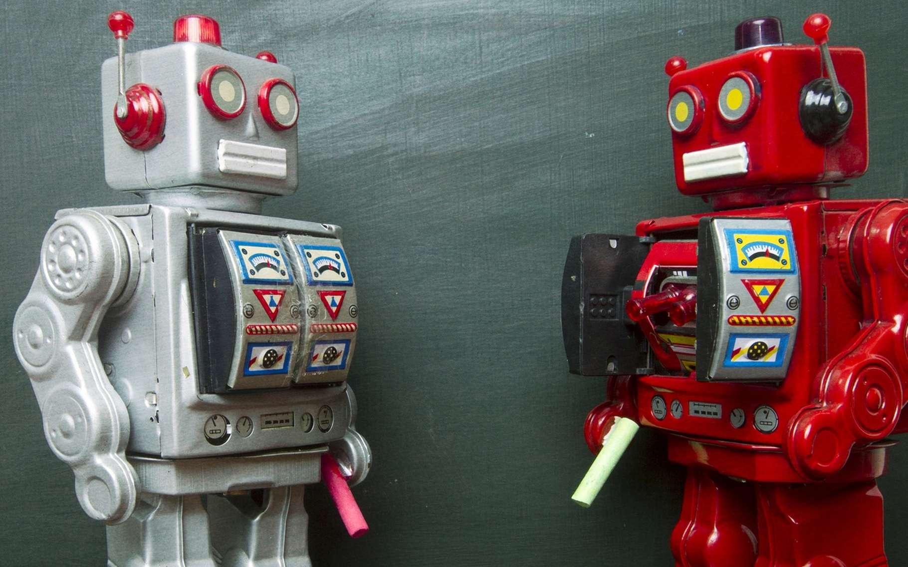 L'apprentissage des robots est un enjeu fondamental pour lequel les roboticiens poursuivent deux objectifs : le rendre accessible à des non-spécialistes et faire en sorte que des robots soient capables de former d'autres robots pour accomplir des tâches similaires. © Charles Taylor, Fotolia