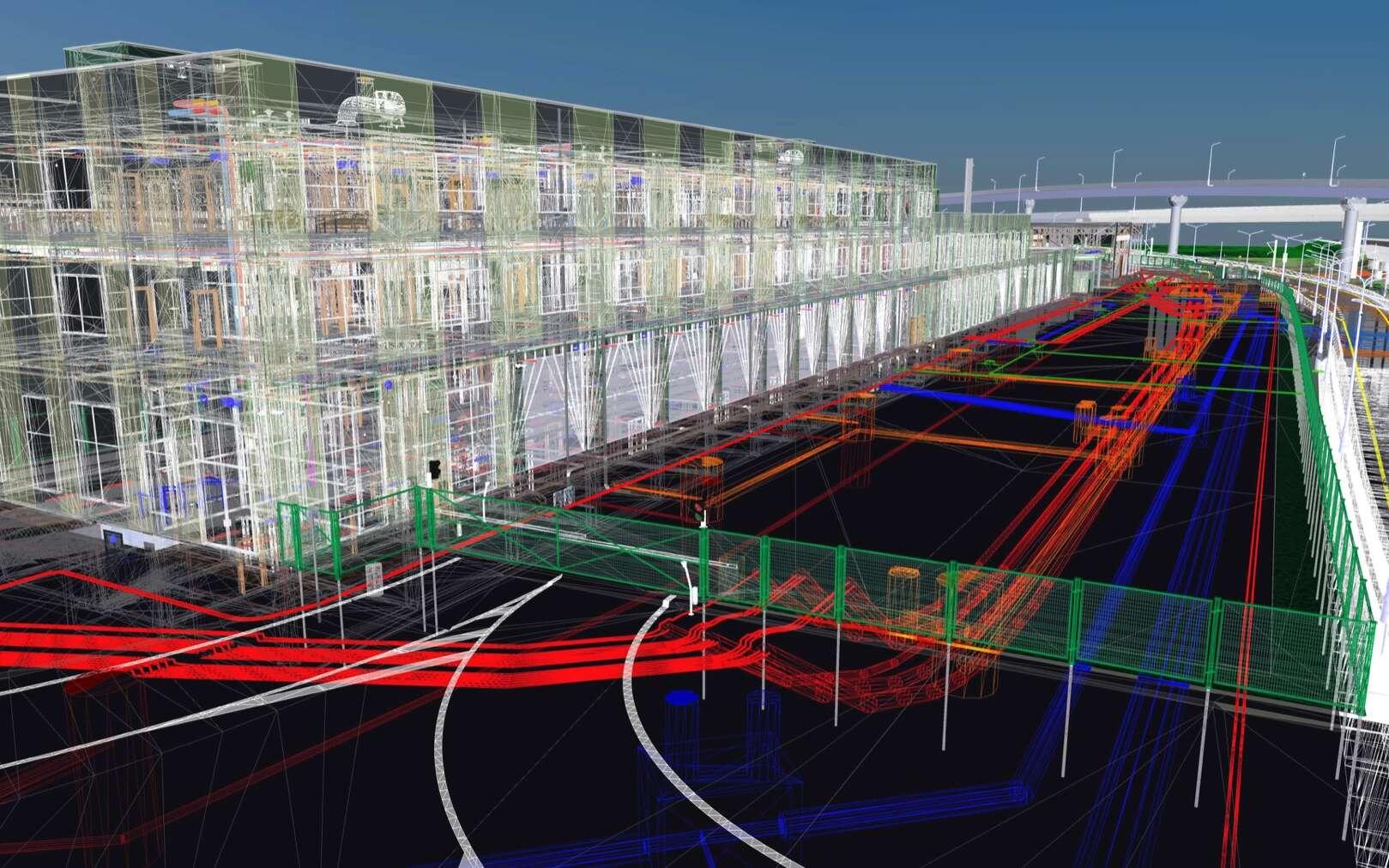 Le BIM, bâti immobilier modélisé, est l'outil essentiel pour optimiser la gestion d'un immeuble et faciliter sa maintenance© black_mts, Adobe Stock