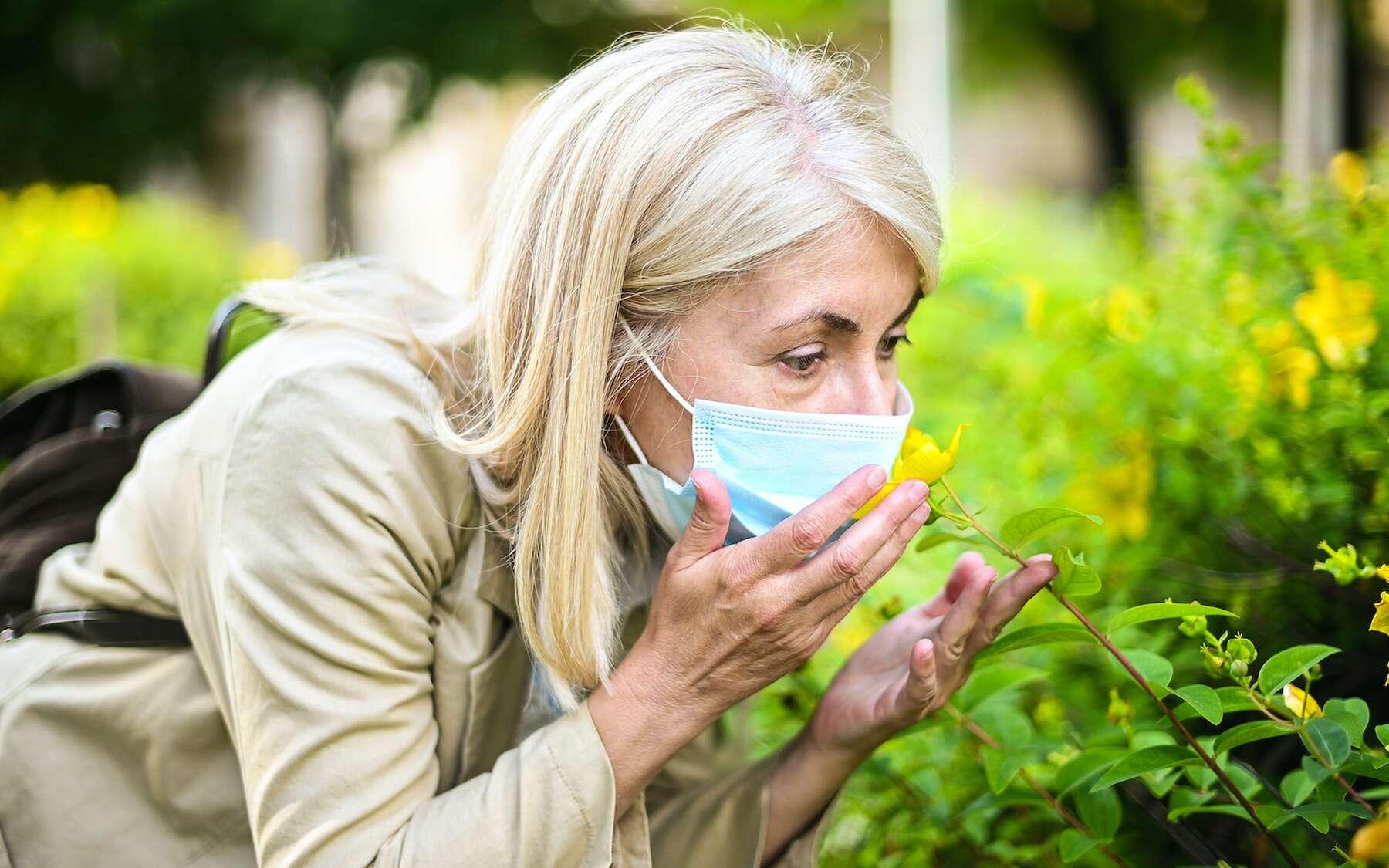 L'anosmie est un des symptômes de la Covid-19. © buritora, Adobe Stock