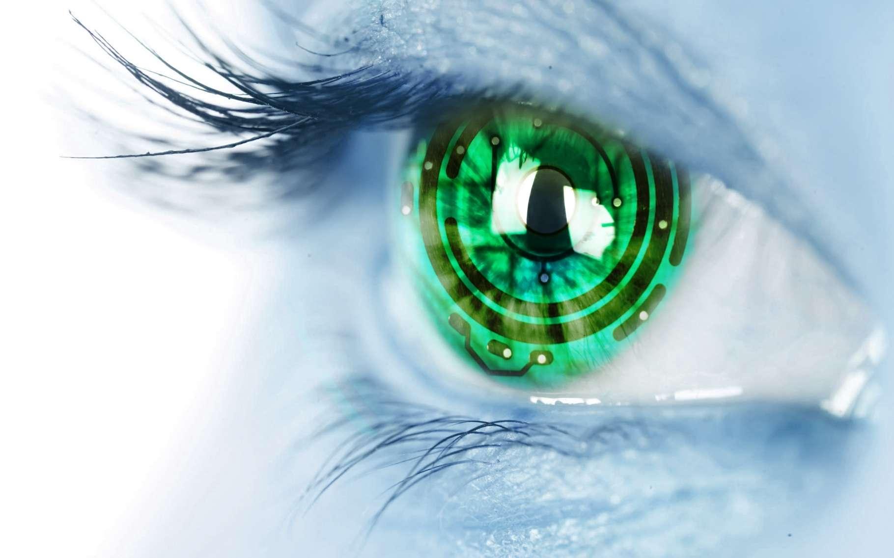 Samsung a poussé à l'extrême le concept des Google Glass en imaginant que la technologie puisse être intégrée directement dans des lentilles de contact. © PeterPhoto123, Shutterstock