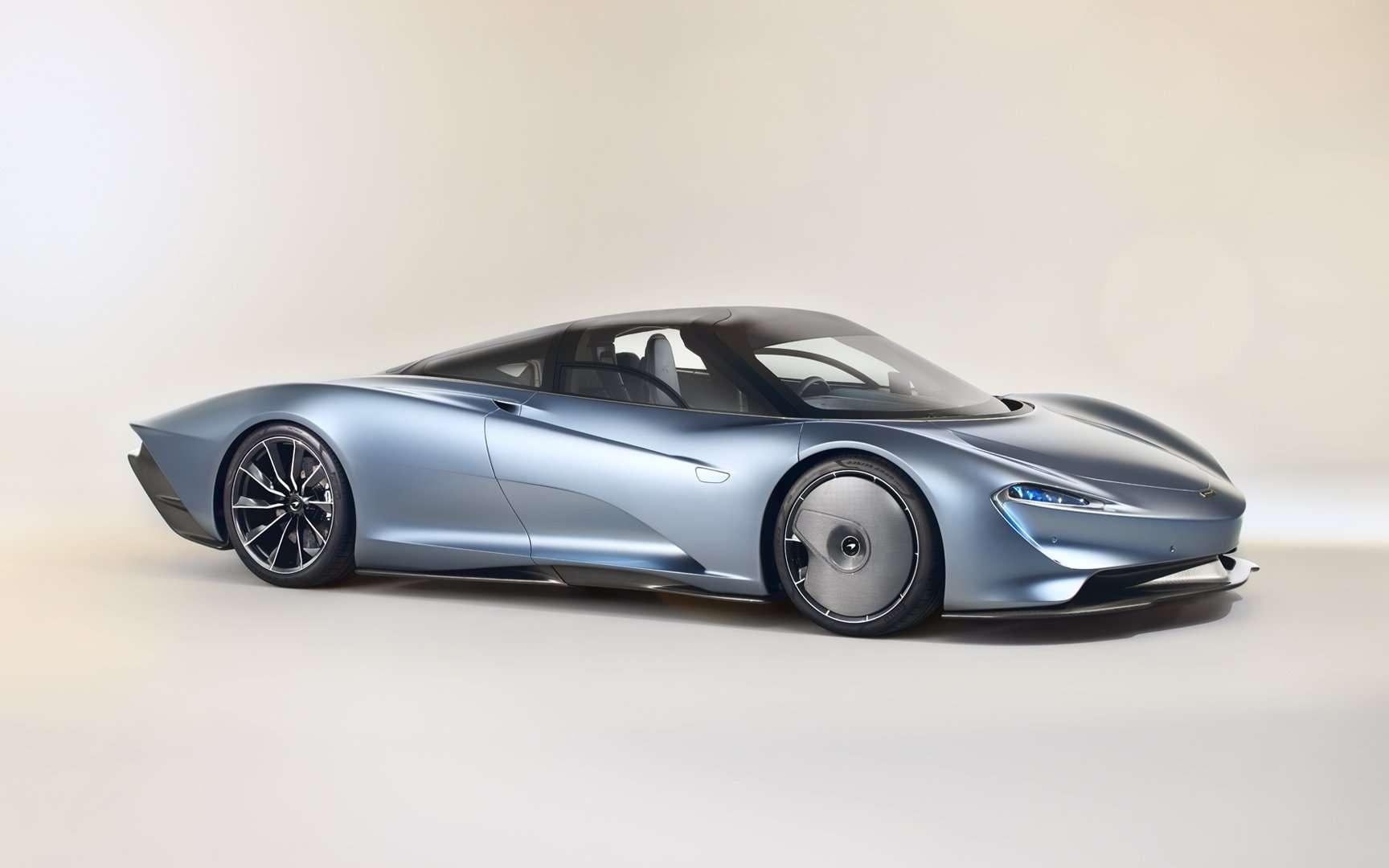 La McLaren Speedtail nous rappelle que l'aérodynamique la plus simple est encore la plus efficace. © McLaren