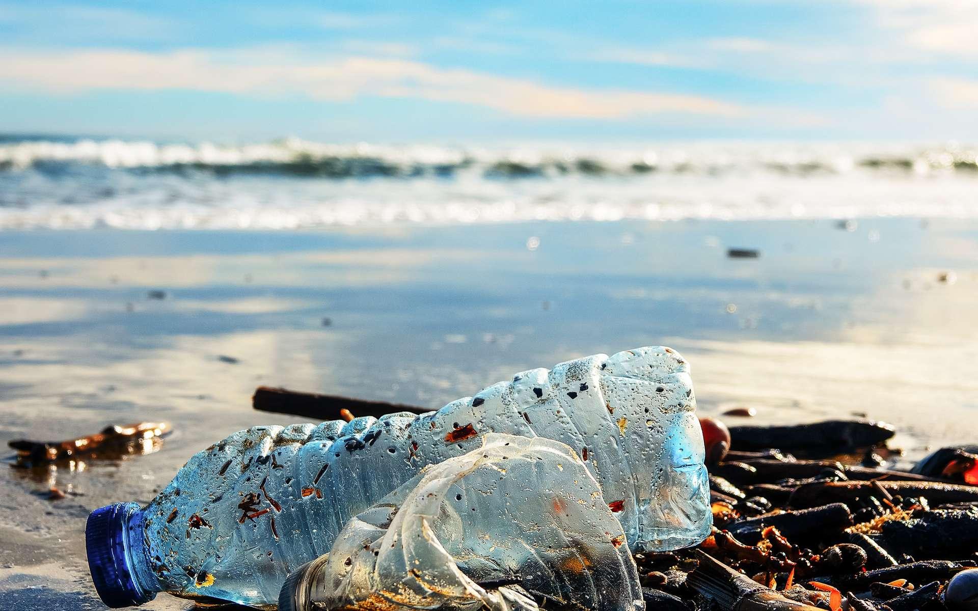 24 millions de tonnes de déchets plastiques sont produits par les 22 pays de la région méditerranéenne. © Iryna, fotolia