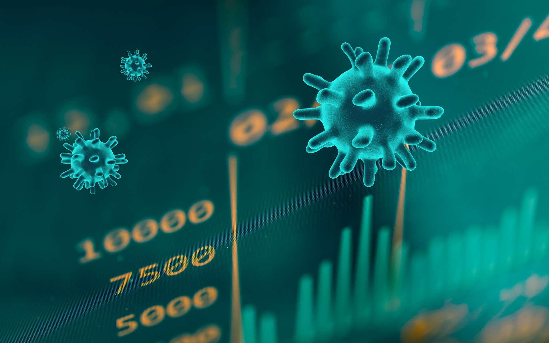 Épidémie de Covid-19 : pourquoi il faut se méfier des statistiques. © OSORIOartist, Adobe Stock