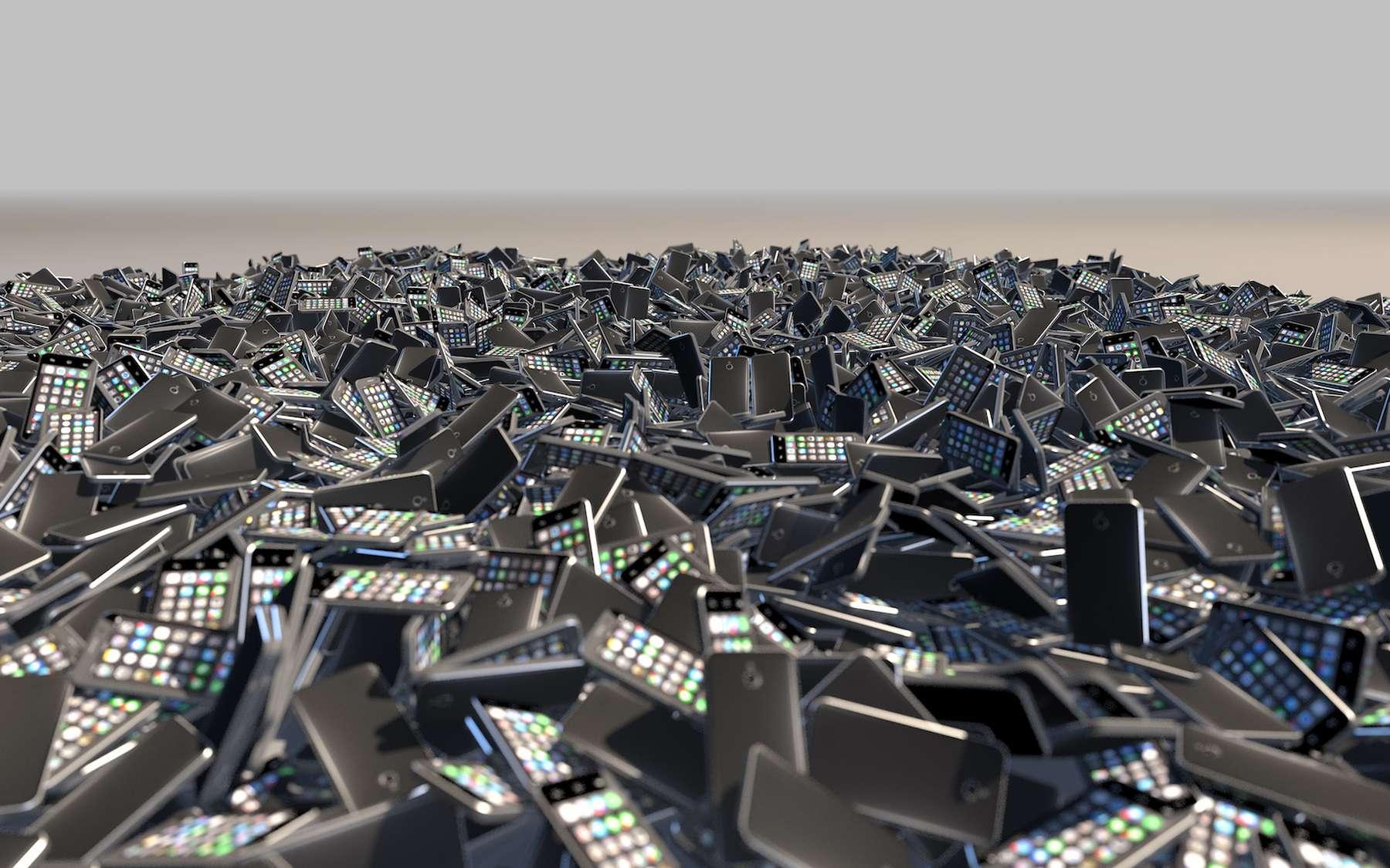 La pollution numérique, un fléau pour la planète. © Gandini, Adobe Stock