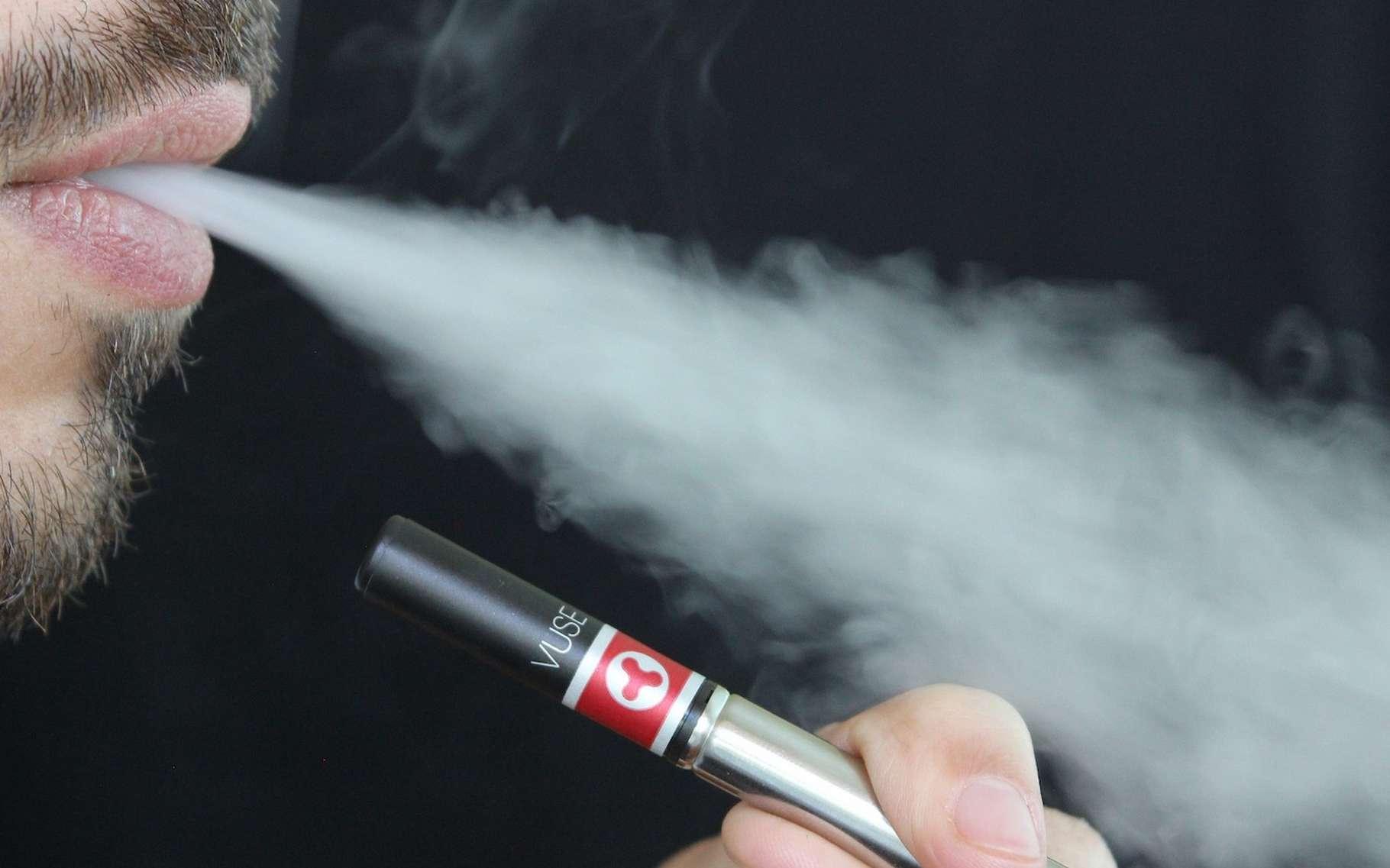La cigarette électronique n'est pas sans effet sur la santé. D'autant que des chercheurs de l'université de Californie à Riverside (États-Unis) viennent de découvrir des métaux toxiques dans les vapeurs de certaines d'entre elles. © lindsayfox, Pixabay License