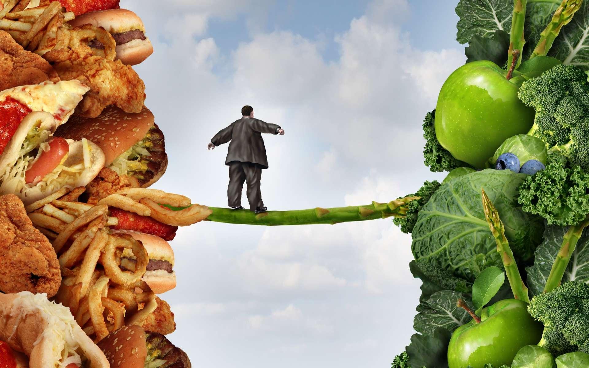 La sédentarité et une alimentation déséquilibrée, entrainant obésité ou surpoids, sont des facteurs de risques qui peuvent être des déclencheurs du diabète de type 2. © freshidea, Adobe Stock